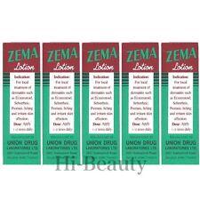 5 ZEMA Lotion Dermatitis Psoriasis Eczema Treatment Salicylic Acid 12%