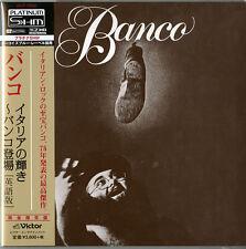 BANCO-S/T-JAPAN MINI LP PLATINUM SHM-CD 7 INCH SIZE JACKET Ltd/Ed I45