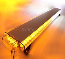"55"" 104W LED WORK LIGHT BAR BEACON EMERGENCY FLASH WARNING STROBE AMBER/WHITE"