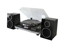More details for soundmaster pl979 automatic turntable hifi system with radio & cd player (ga)
