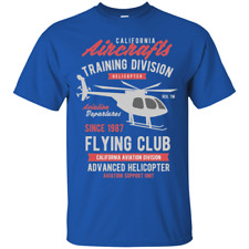 California Aircrafts Helicopter T-Shirt