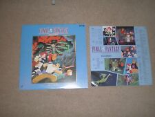 FINAL FANTASY 4 Laserdisc JAPAN Anime with Insert