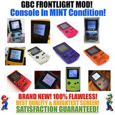 Nintendo Game Boy Color GBC Frontlight Front Light Frontlit Mod Pick A Color