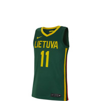 Nike Lithuania Sabonis Road Jersey Men's Athletic Limited Tee 2019 - CJ1660-342
