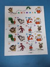 #3987-94 FAVORITE CHILDREN'S BOOK ANIMALS 39 cent Stamps MNH Booklet/Pane 2005