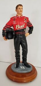 2001 Limited Edition Dale Earnhardt Jr. Holding Helmet Statue 1st One Made (B5)