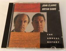 """John Clarke & Bryan Dawe """"The Annual Report - 22 Tracks - Warner label CD (1991)"""