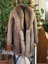 PELLICCIA DI MARMOTTA RACCOON FUR JACKET PELZ FOURRURE  Меховая куртка
