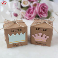 10Pcs Kraft Paper Chocolate Candy Gift Boxes Wedding Party Baby Shower Favor Box