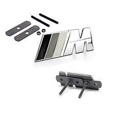 Chrome Grille ///M Emblems Badge 3d for BMW M3 E36 E46 E90 E92 Series white U1