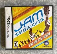 Jam Sessions Nintendo DS Sing & Play Guitar *Missing Manual* TESTED VG