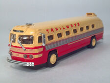 "American Precision Models APM SP108 1:87 4.5"" Trailways 156 Flxible Clipper Bus"