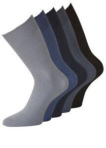 Herren Diabetiker Socken Gesundheitsstrümpfe ohne Gummi KB Socken® 10 Paar