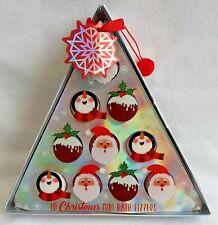 10 Christmas Mini Bath Fizzers - Boxed Gift - Brand New