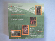 1996 ROYAL CANADIAN MINT SET IN BOX 4 LITTLE WILD ONES OF CANADA 50 CENT PIECES