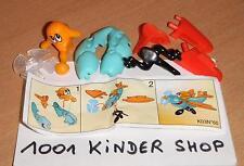 KINDER K03 N°60 PROPELLERFLUGZEUG AVION FLUGZEUG + BPZ