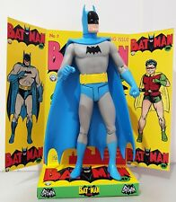 "BATMAN 6"" ACTION FIGURE on One Of A Kind Comic Issue No.1 Custom Design Display"