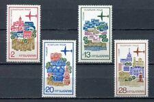 33726) BULGARIA 1973 MNH** AM Historic buildings - 4v