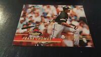 1993 Topps Stadium Club BB #200 Frank Thomas - Chicago White Sox - EX-MT