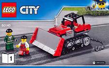 LEGO ® City bulldozer/bouteur de 60140-NEUF
