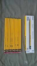 """Faber castell 482 """"Mongol"""" No.2 New old stock 12 pencils 1980's production. USA"""