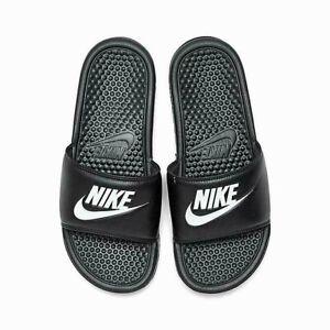 Mens Nike Benassi Flip Slides Sandals Slippers Summer Pool Flops Sliders UK