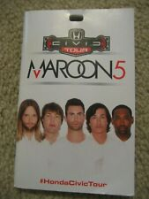 Maroon 5 Booklet Honda Civic Concert Tour 2013 Adam Levine Promotional Pamphlet