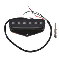 Electric Guitar Single Coil Pickup Bridge Pickup For Tele Parts 6k Ohms Black