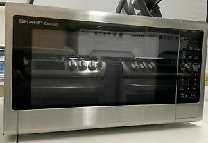 Sharp SMC2242DS 2.2 Countertop Microwave Oven, stainless steel