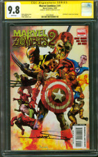 Marvel Zombies 2 CGC 9.8 SS Arthur Suydam Civil War 1 Homage 12/07 Avengers