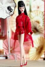 """2004 Silkstone """"Barbie"""" Collectible Doll 12"""" - CHENOISERIE """"RED MOON"""""""