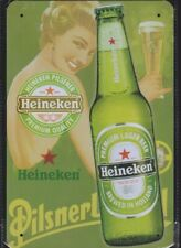 Heineken Pilsener BEER Tin Metal Sign NEW Man Cave Garage Bar Pub Shed