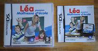 Jeu LEA PASSION MAITRESSE D'ECOLE Complet pour Nintendo DS