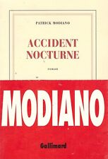 PATRICK MODIANO ACCIDENT NOCTURNE + PARIS POSTER GUIDE