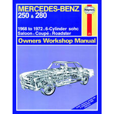 mercedes 250 280 2 5 2 8 petrol 1968-72 (up to l reg) haynes