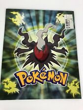 "Vintage Pokemon 2 Pocket Folder 2008 New 9.5"" X 11.75"" School"