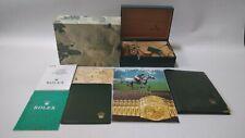 Vintage GENUINE ROLEX Datejust 16233 Watch box case guarantee 68.00.08/924892901