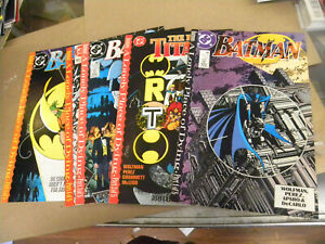 DC 1989 all 5 ishs BATMAN A Lonely Place of Dying 440 441 442 New Titans 60 61 q