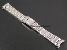 STAINLESS STEEL WATCH BRACELET STRAP FOR ROLEX MEN'S YACHT-MASTER OYSTER 20mm