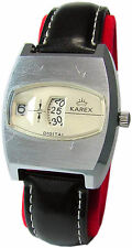 KAREX Digital mechanische Herrenuhr  men vintage mechanical watch Scheiben uhr