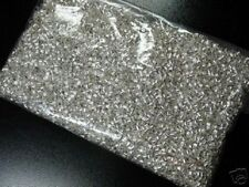 5000 pcs Silver plate crimps finding beads TUBE 2x2mm