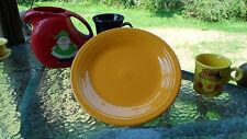 "DINNER PLATE marigold HOMER LAUGHLIN FIESTA 10 1/2"" NEW"