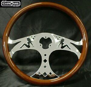 Steering Wheel 3-spoke Girls  ,Freightliner,Kenworth,Mack,Western star,Eagle