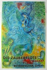 Marc Chagall The Magic Flute (Die Zauberflote) Mourlot Large Lithograph Art
