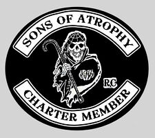 Sons of Anarchy - oops Atrophy  - lapel pin