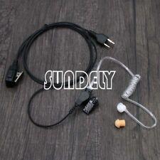Covert Acoustic Tube Headset for Midland Ocean Pacific Alan 451 456r FBI Style