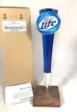Brand New in Box Miller Lite Classic Beer Tap Handle Acrylic Mancave Bar NIB
