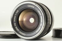 """Rare """"O"""" [Exc+5] Canon FD 24mm f/2.8 Wide Angle MF FD Mount Lens From JAPAN"""