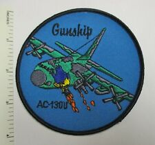 US AIR FORCE AC-130U SPECTRE GUNSHIP AIRCRAFT PATCH Original