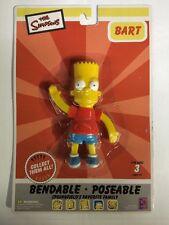 Bart Simpson Bendable Poseable Figure Nj Croce The Simpsons